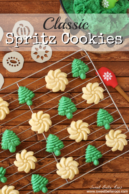 classic-spritz-cookies, 15 Holiday Cookie Recipes, Create Link Inspire Features at Kleinworth & Co.
