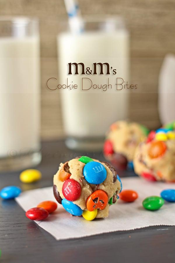 M&M's Cookie Dough Bites