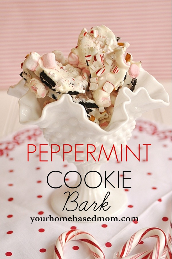 peppermint-cookie-bark, 15 Holiday Cookie Recipes, Create Link Inspire Features at Kleinworth & Co.