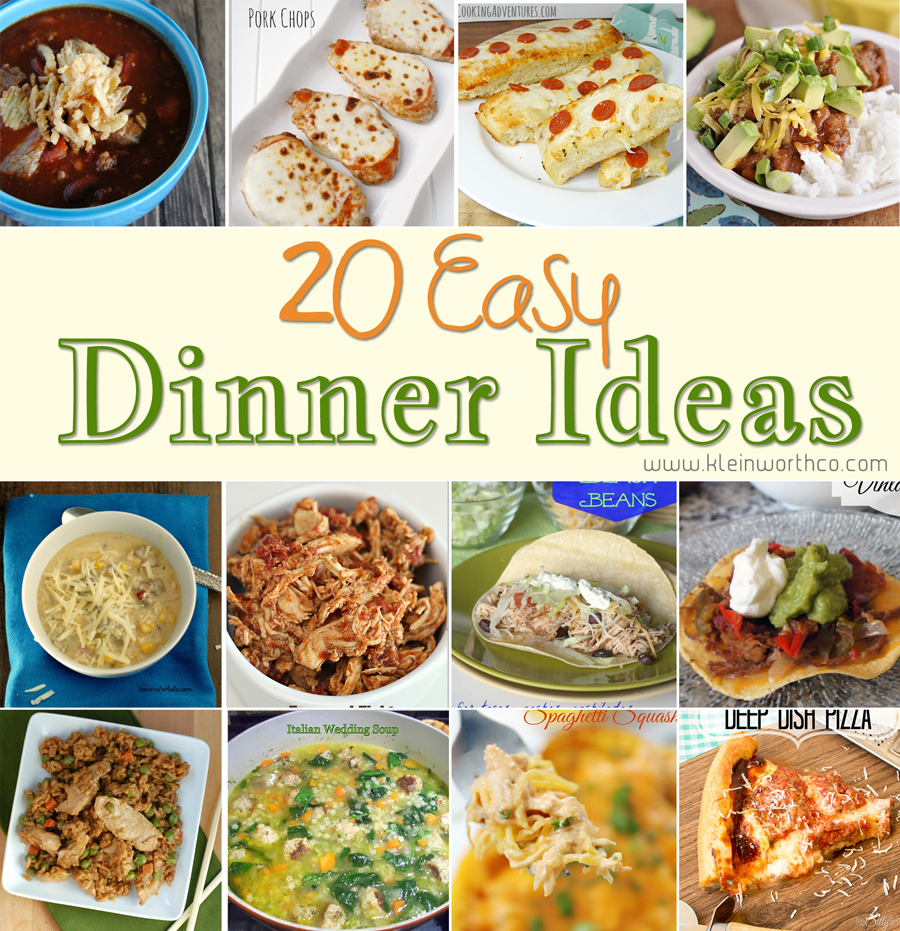 Lovely Easy Dinner Ideas For Party Part - 6: 20 Easy Dinner Ideas