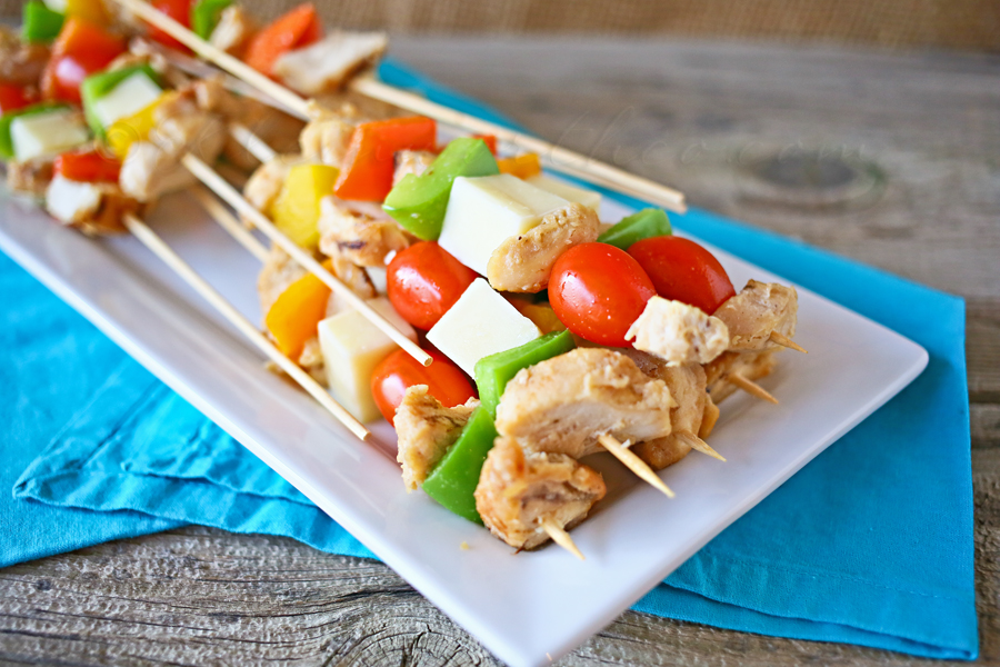 Easy Grilled & Ready Kabobs, #JustAddTyson, #ad, #cbias