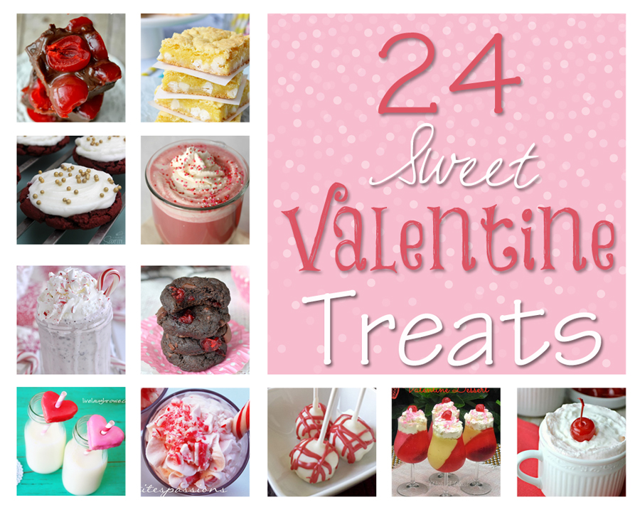 24 Sweet Valentine Treats