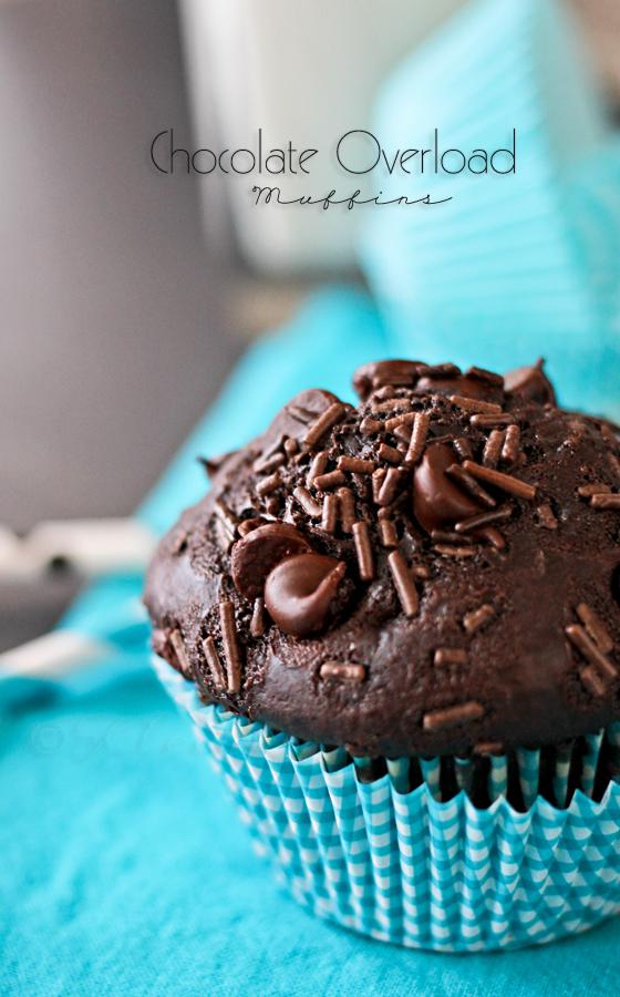 Chocolate Overload Muffins