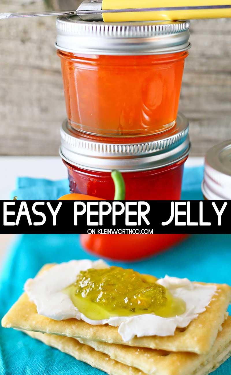 Easy Pepper Jelly