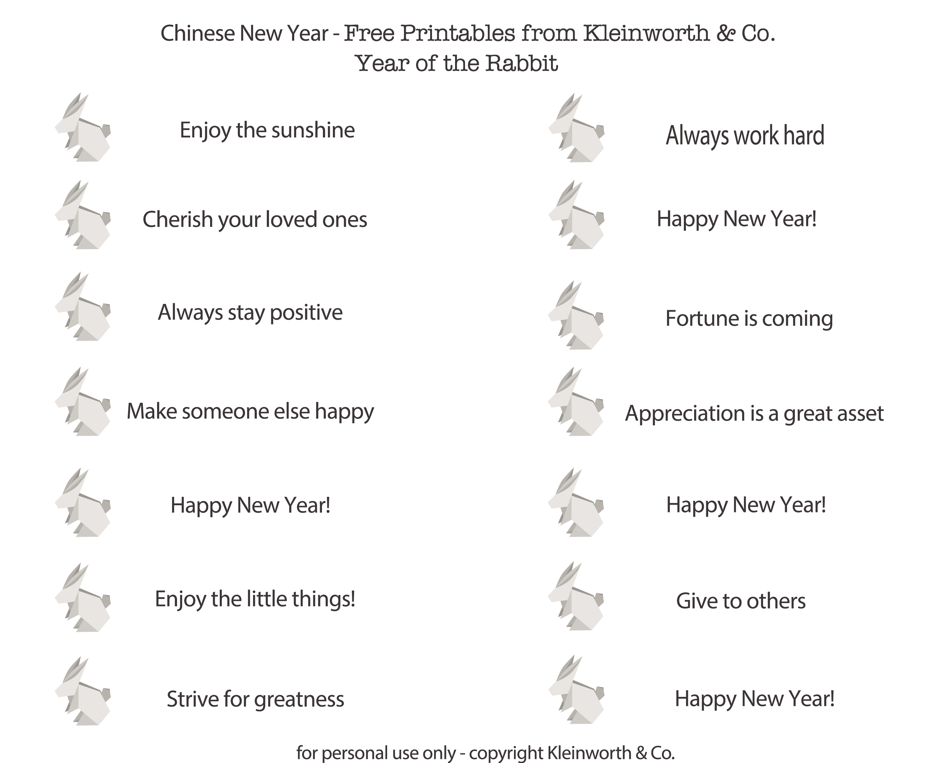 photo regarding Printable Fortune Cookie Sayings identify Do-it-yourself Fortune Cookies Totally free Printable - Kleinworth Co