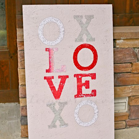 Valentine Porch Sign
