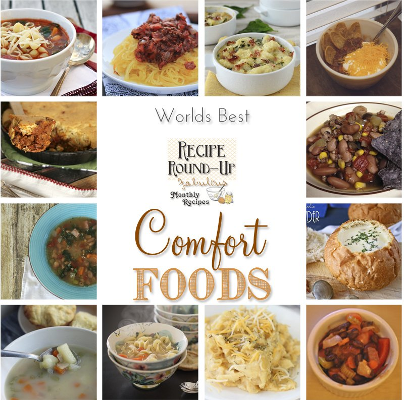 Worlds Best Comfort Foods - Recipe Round-Up kleinworthco.com