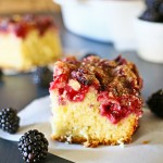 Blackberry White Chocolate Buckle