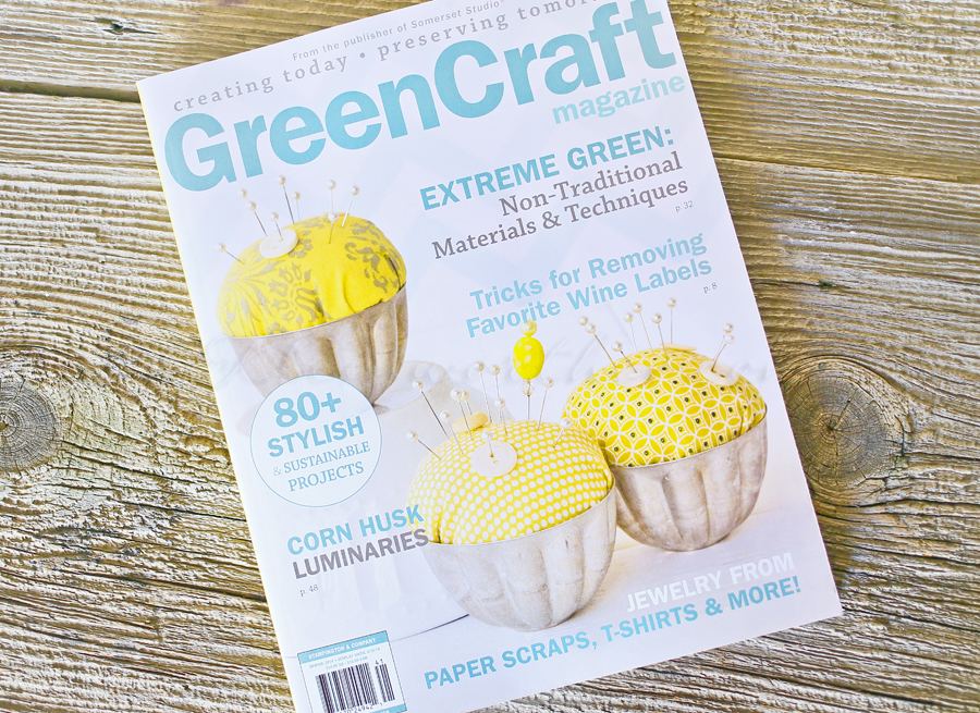 Featured in Green Craft Magazine
