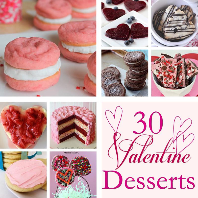 30 Valentine Desserts