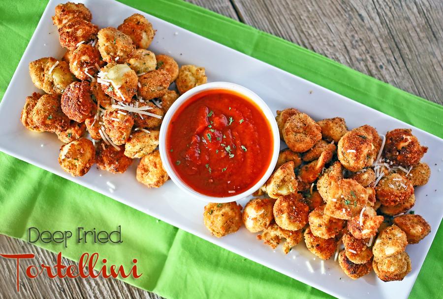 Deep Fried Tortellini