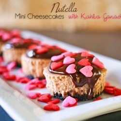Nutella Mini Cheesecakes