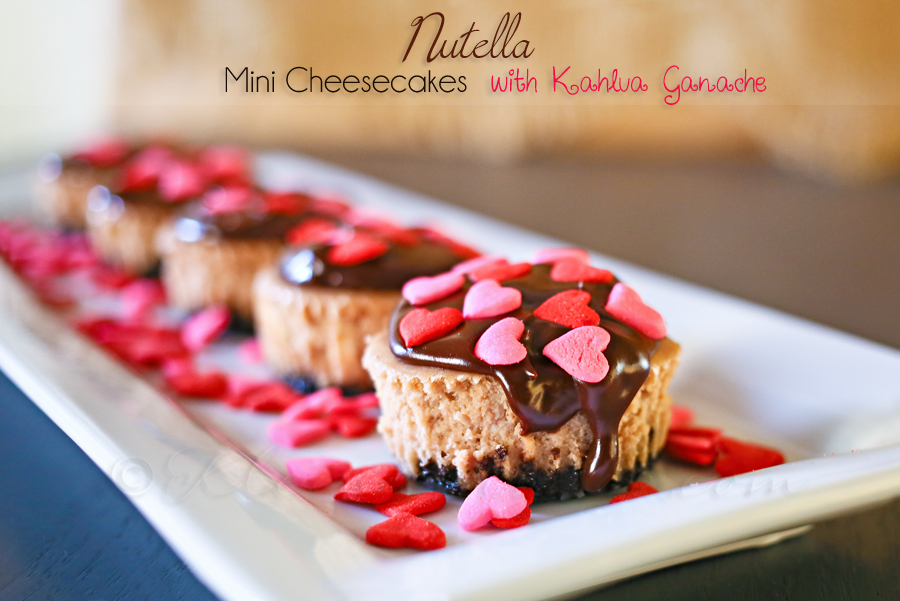 Nutella Mini Cheesecakes