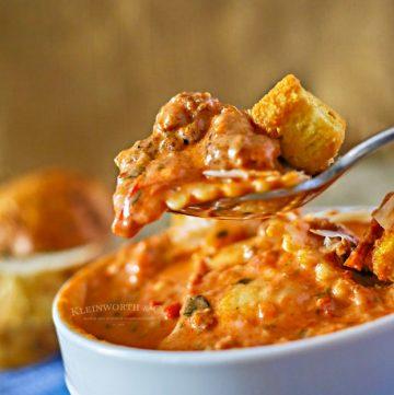 Tuscan Ravioli Soup
