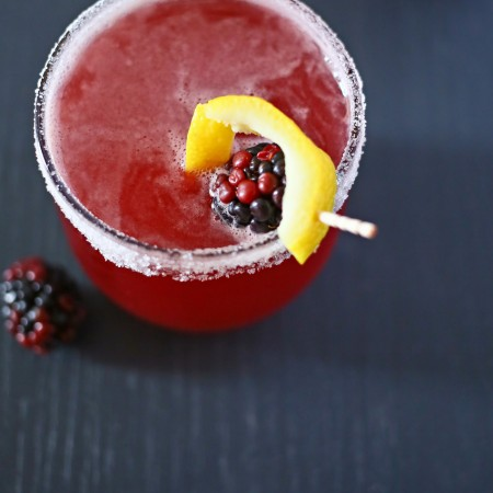 Blackberry Irish Whiskey Sour