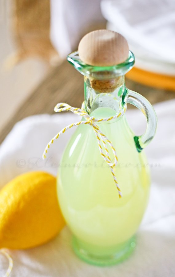 Simple Lemon Syrup