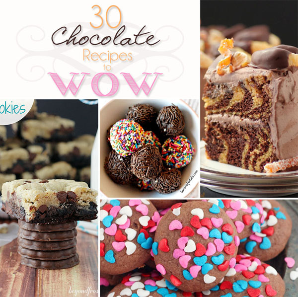 30 Chocolate Recipes to WOW