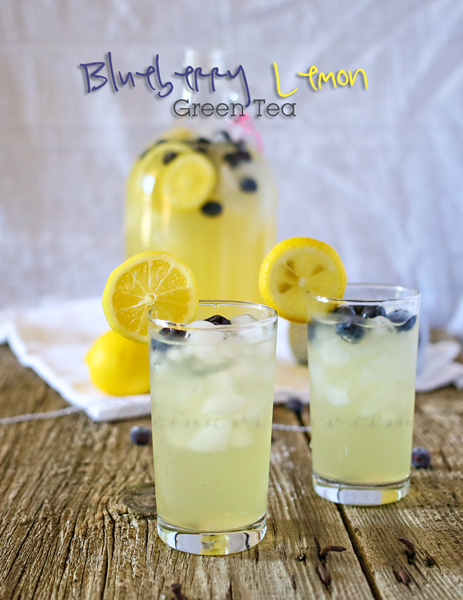 Blueberry Lemon Green Tea 600
