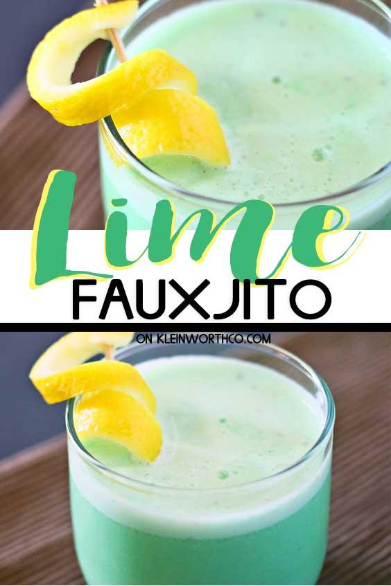 Lime Fauxjito