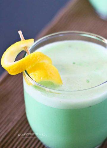 Lime Fauxjito recipe