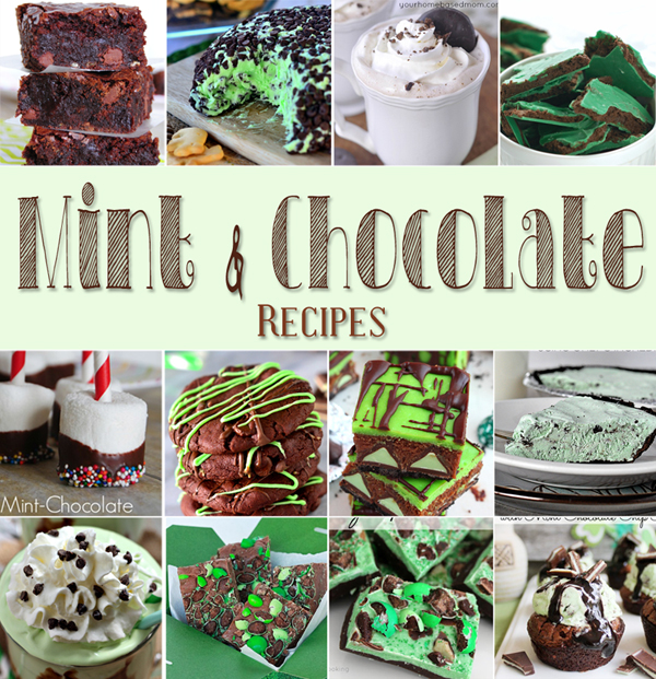 Mint Chocolate Recipes 600