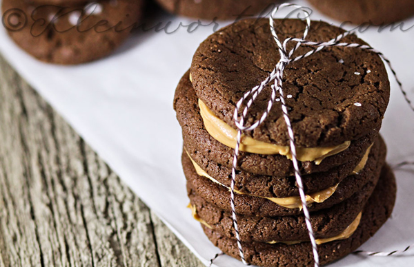 Nutella PB cookies