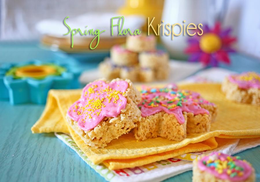 Spring Flora Krispies + {Giveaway}