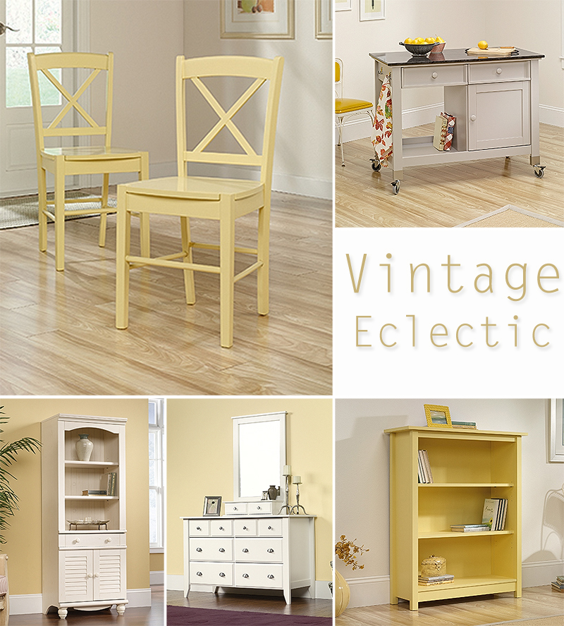 Vintage Eclectic ~ Get the Look