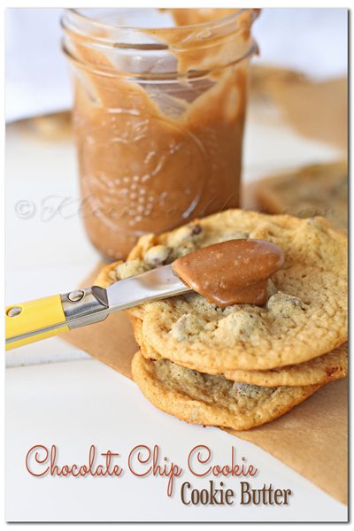 Chocolate Chip Cookie Butter