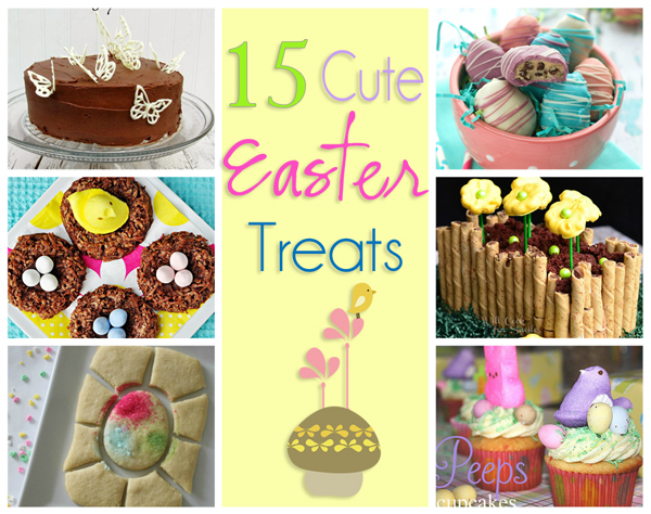 15 Cute Easter Treats