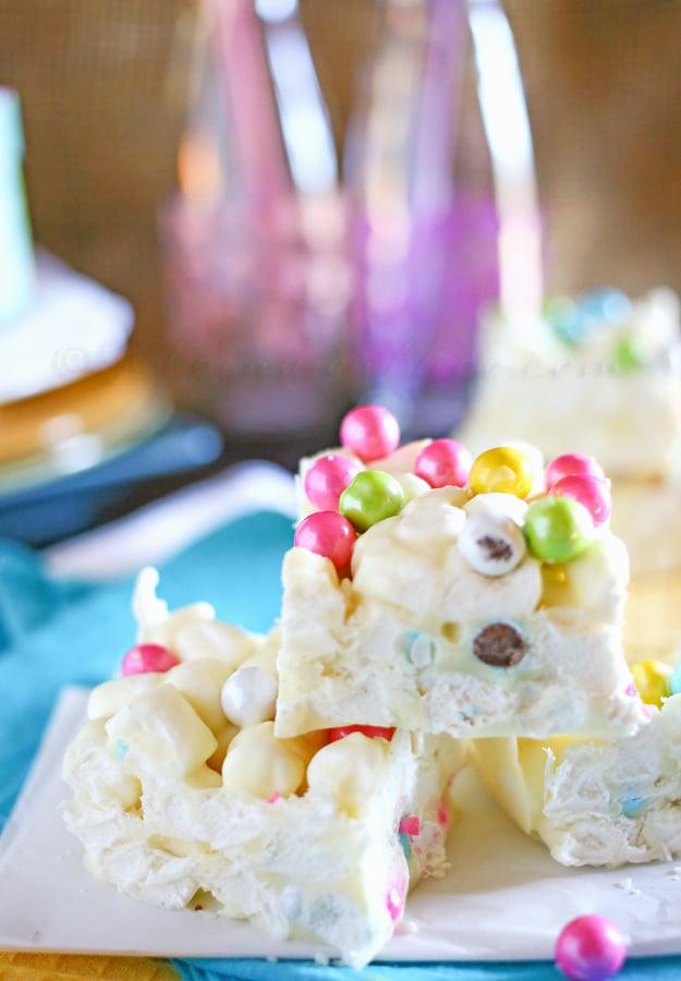 Marshmallow Easter Bars from Kleinworth & Co. www.kleinworthco.com