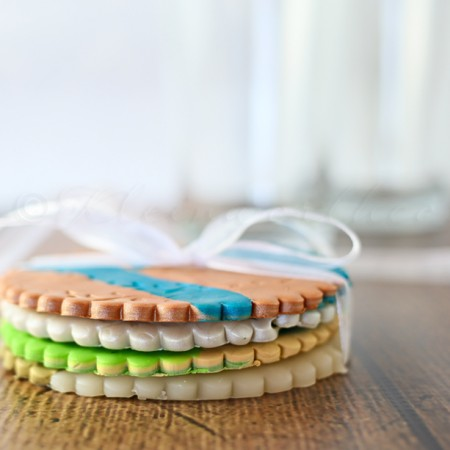 DIY Clay Coasters