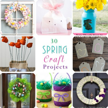 30 Spring Craft Projects
