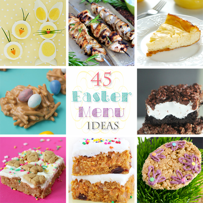 45 Easter Menu Ideas