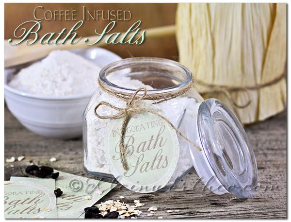 Coffee Infused Bath Salts