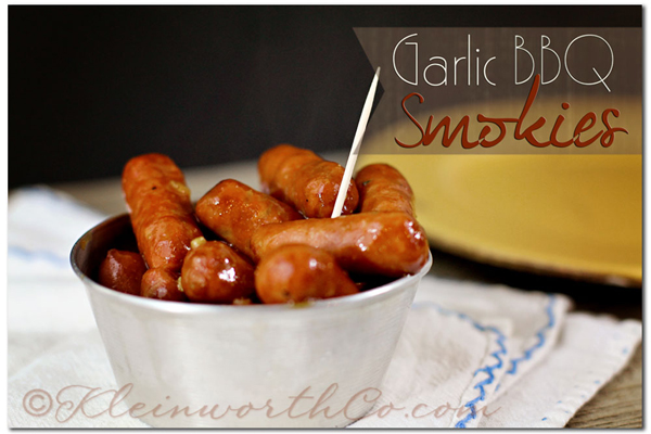 garlic bbq smokies