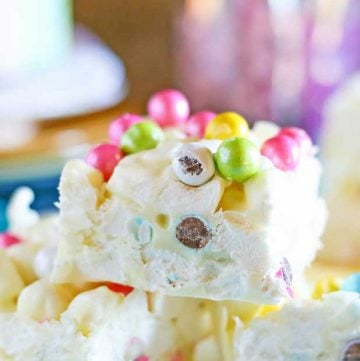 Marshmallow Easter Bars recipe