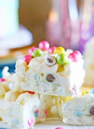 Marshmallow Easter Bars recipe