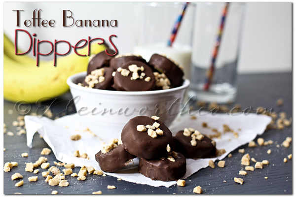 Toffee Banana Dippers