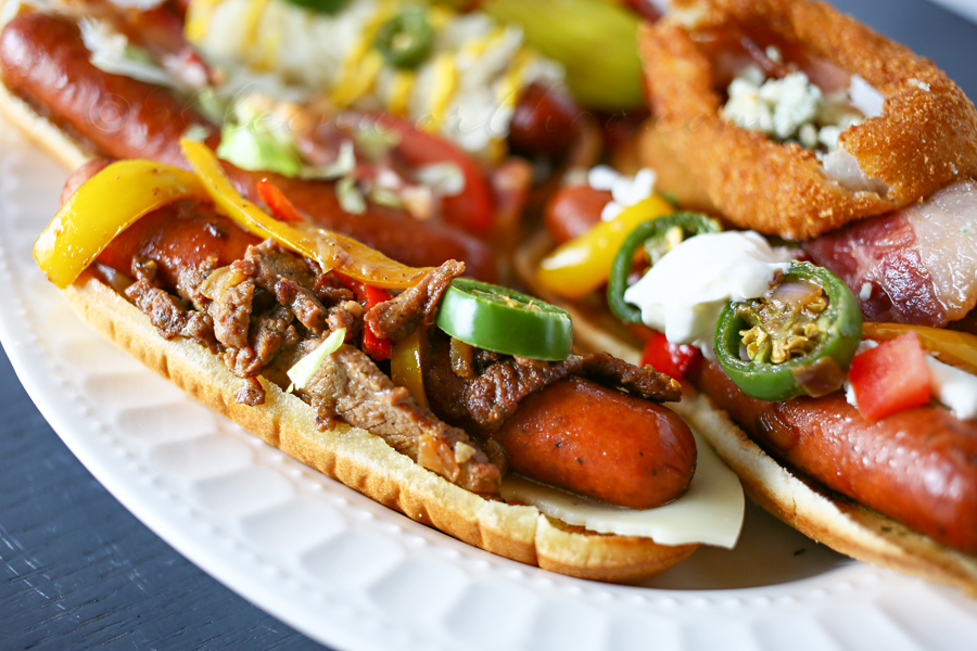 Gourmet Hot Dogs www.kleinworthco.com #StartYourGrill #CollectiveBias #shop