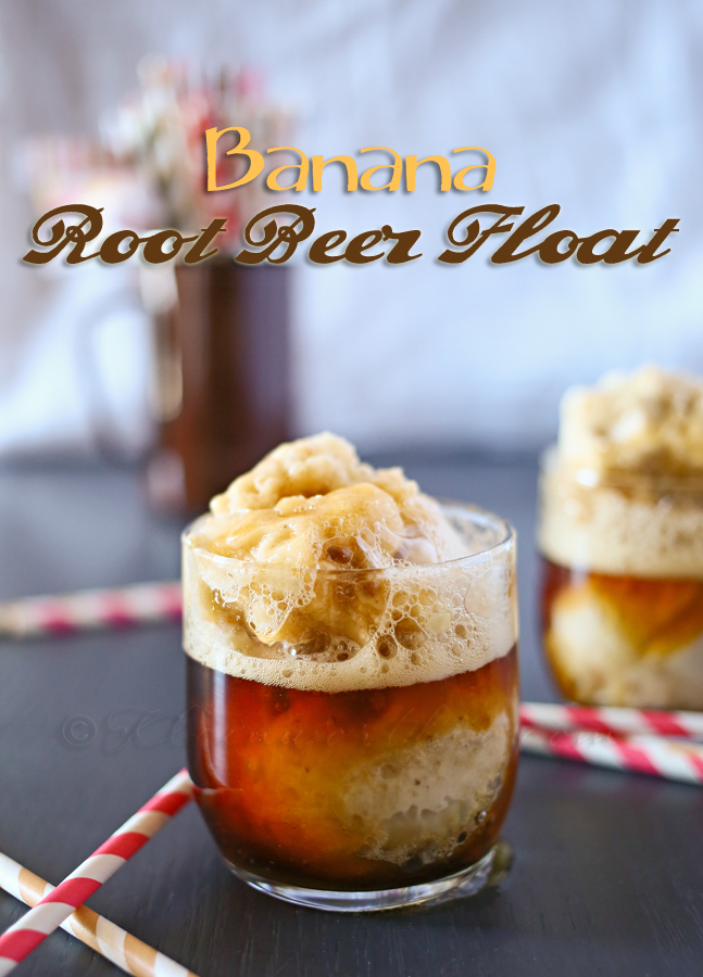 Banana Root Beer Float