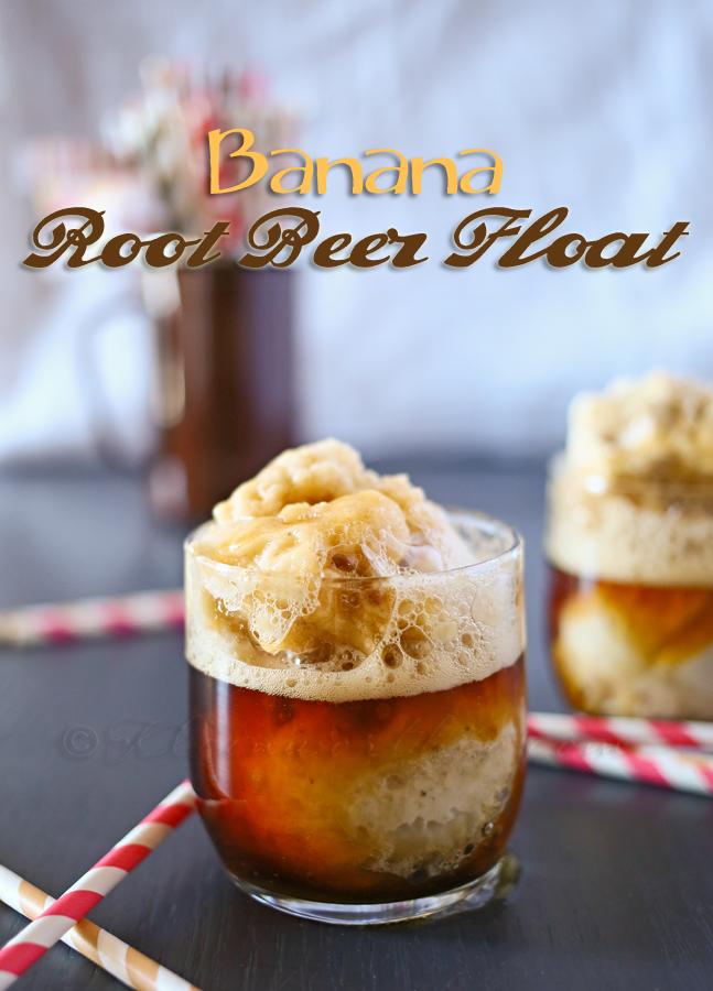 Banana Root Beer Float