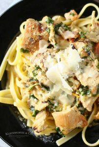 How to make Chipotle Spinach Fettuccini