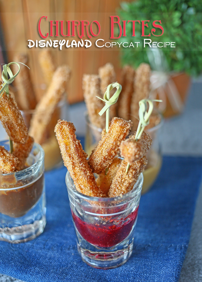Churro Bites ~ Disneyland Copycat Recipe www.kleinworthco.com