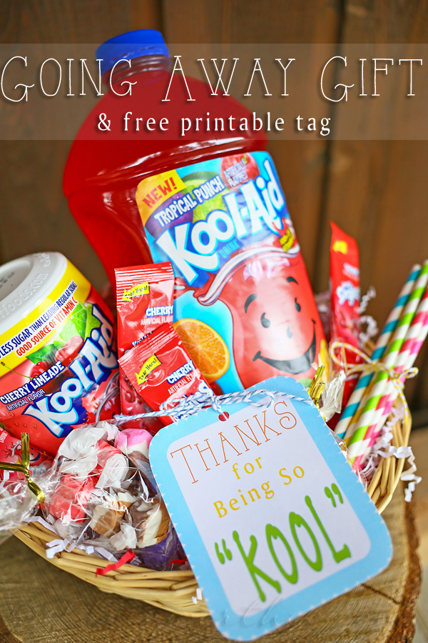 Going Away Gift {Free Printable}