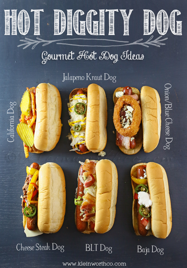Gourmet Hot Dogs www.kleinworthco.com