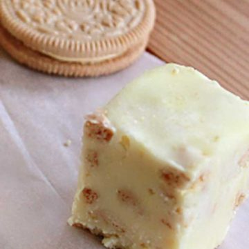 how to make Lemon Oreo Fudge
