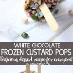 White Chocolate Custard Frozen Pops