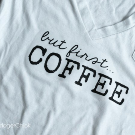 But First…Coffee T-Shirt ~ Printable Decal