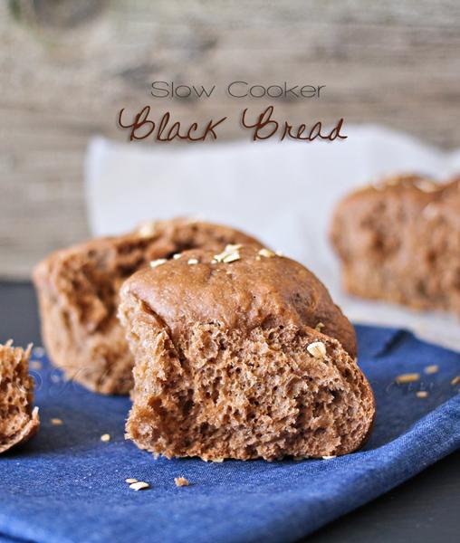 slow cooker black bread